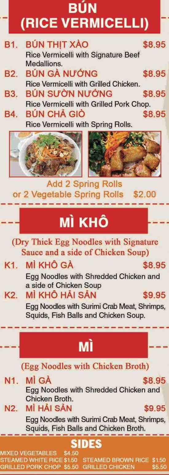 Pho Vietnam Menu New Hartford Ny